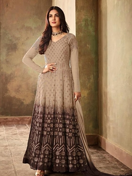 Picture of 6706B  Fantastic Padding Georgette With Fancy Anarkali Suit Collection