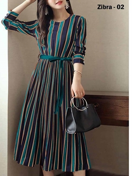 Picture of ZIBRA02 Long Western Dresses Collection