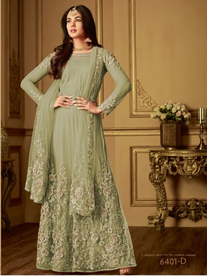 Picture of 6401D Designer Anarkali Suit Collection