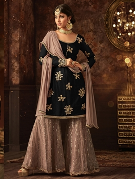 Picture of 5801F Sharara Suit Collection