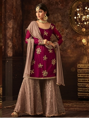 Picture of 5801E Sharara Suit Collection