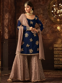 Picture of 5801C Sharara Suit Collection