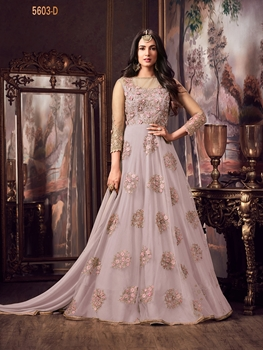 Picture of 5603D Embroidered Flair Anarkali Suit Collection