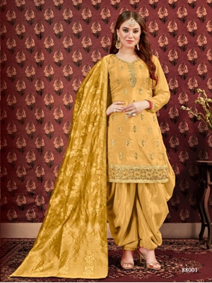 Picture of AANAYA88000A Designer Patiala Suit Collection