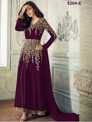 Picture of 8204E Designer Anarkali Suit Collection