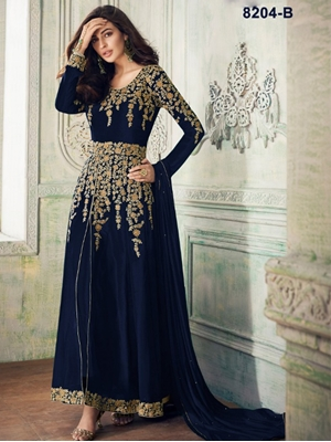Picture of 8204B Designer Anarkali Suit Collection
