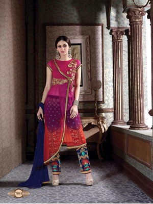 Picture of FREESIA1035 Pakistani Suit Collection