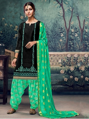 Picture of A6 Designer Patiala Suit Collection