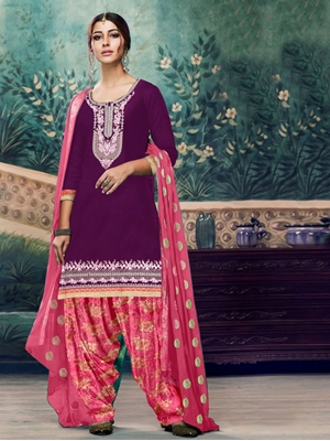 Picture of A5 Designer Patiala Suit Collection
