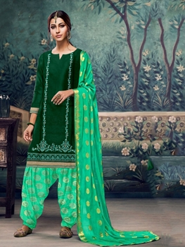 Picture of A3 Designer Patiala Suit Collection
