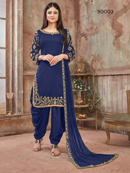 Picture of 90003C Patiala Suit Collection