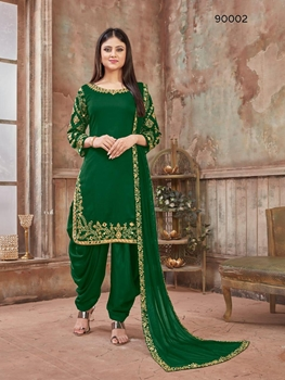 Picture of 90002B Patiala Suit Collection