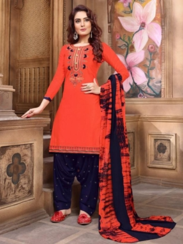 Picture of P1010 Heavy Embroidery Patiala Collection