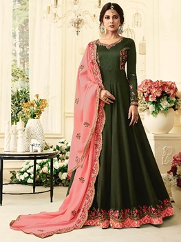 Picture of 408A Long Anarkali Gown Collection