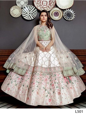 Picture of L501 Designer Bridal Lehenga Collection