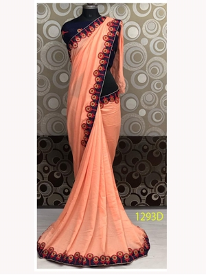 Picture of 1293D Vichitra Silk Saree Collection