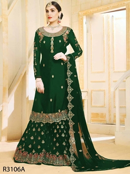 Picture of R3106A Designer Sharara Suit Collection