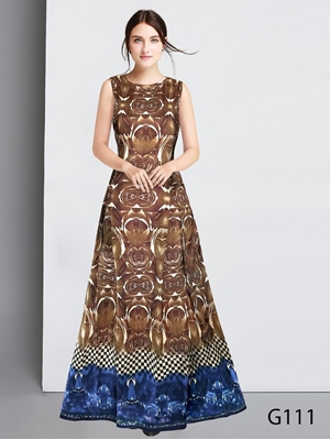 Picture of G111 Designer Rudra Gown Collection