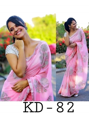 Picture of KD82 Designer Silk Saree Collection