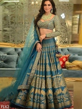 Picture of FL62 Digital Printed Lehenga Choli Collection