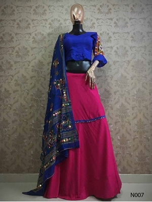 Picture of N007 Designer Lehenga Choli Collection