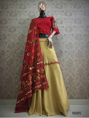 Picture of N005 Designer Lehenga Choli Collection