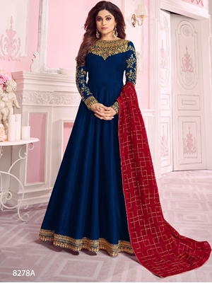 Picture of 8278A Designer Anarkali Suit Collection