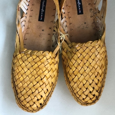 Picture of Criss Cross Leather women Shoes
