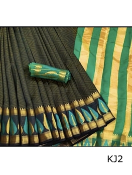 Picture of KJ2 Kanjivaram Silk Saree Collection