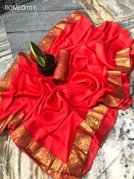 Picture of Romeo101 Rangoli Silk  Saree Collection