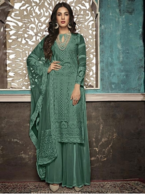 Picture of SAZIA7406E Designer Suit Collection