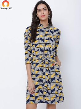 Picture of Honey403 Western Dress Collection