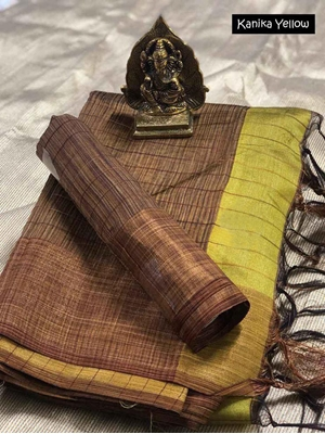 Picture of KanikaYellow Cotton Saree Collection