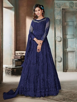 Picture of 604D Heavy Anarkali Suit Collection