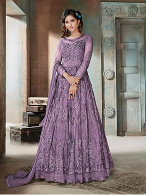 Picture of 604C Heavy Anarkali Suit Collection