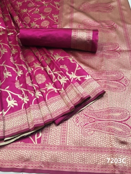 Picture of 7023C Kora Silk Saree Collection