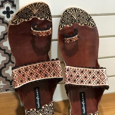 Boho Brown Chappal