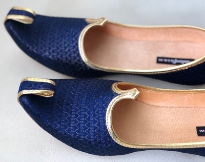 Picture of  Mens Blue Wedding Shoes