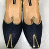 Picture of Blue Indian wedding Shoes