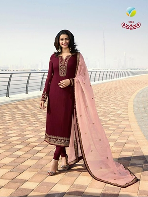 Picture of Designer Straight Suit Collection