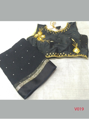 Picture of Viscose Hit  Georgette Saree Collection