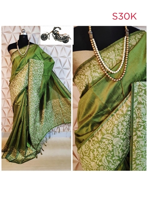 Picture of Designer Row Silk Weaving Saree Collection