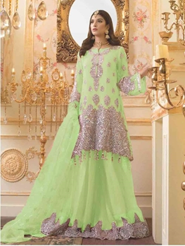 Picture of 21005A Latest Pakistani Style Indian Suit