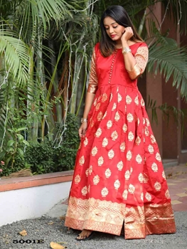 Picture of 5001E Soft Silk Gown Collection