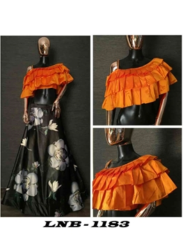 Picture of 1183 Crop Top Lehenga Choli Collection
