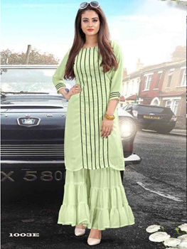 Picture of Kurti With Sharara  Collection