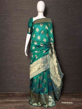 Picture of 7021C Silk Woven Saree Collection