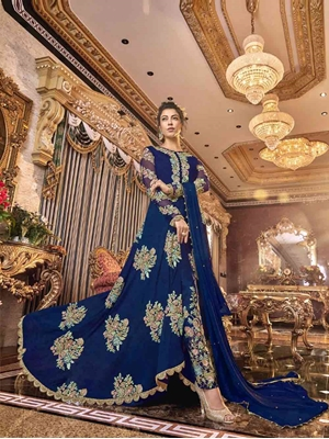 Picture of 6304B Designer Anarkali Suit Collection