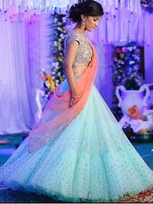 Picture of 6110A Designer Lehenga Choli Collection