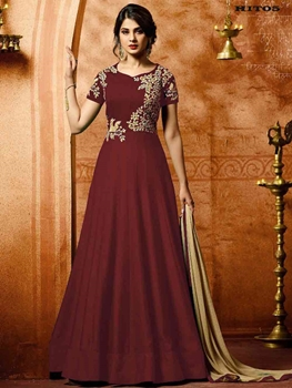 Picture of Hit Designer Anarkali Suit Collection